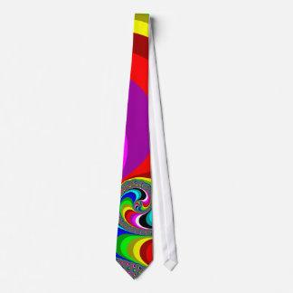 040 Obama - Fractal Art Neck Tie