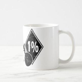 0413032011 Biker 1% Distress (Biker) Coffee Mug