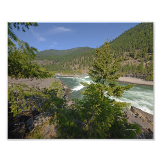 0413 8/12 Kootenai Falls Photograph