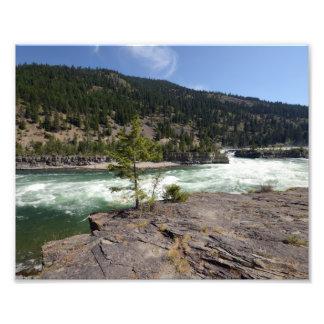 0415 8/12 Kootenai Falls Photo Print