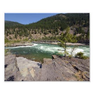 0416 8/12  Kootenai Falls Photographic Print