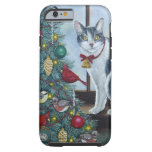 0417 Christmas Cat iPhone 6 Case