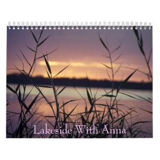 041 combinados, orilla del lago con Ana Calendario