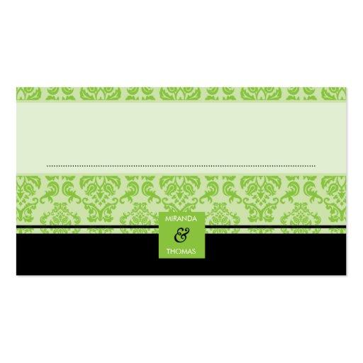 041 Patricia:: tarjetas del asiento de la recepció Tarjeta De Visita