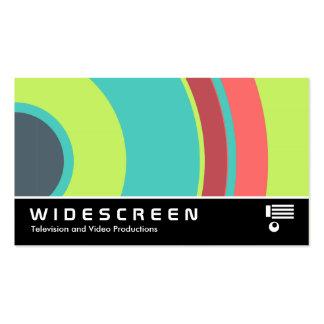 0430 con pantalla grande - Círculo colorido 04 Tarjeta Personal