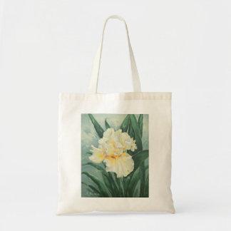 0434 Cream Iris Budget Tote Bag