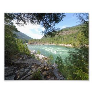 0439 8/12 Kootenai Falls Photographic Print
