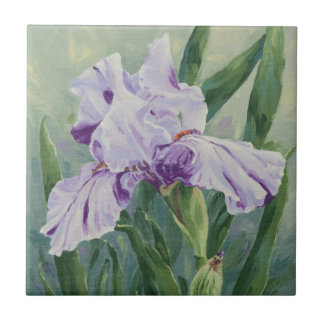 0440 Purple Iris Small Square Tile