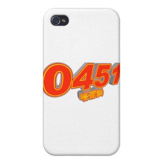 0451 Harbin iPhone 4/4S Cases