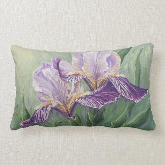 0455 iris púrpuras cojines