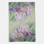 0455 Purple Irises Towels