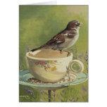 0470 Sparrow Greeting Card