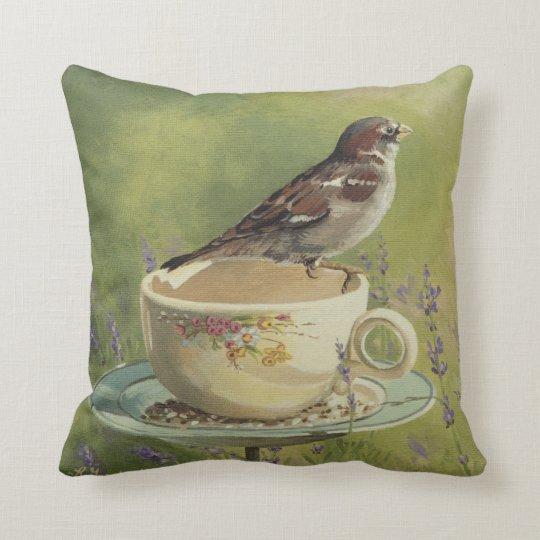 0470 Sparrow Pillow Zazzle Com