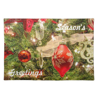 047HD- Holiday Decorations Placemats