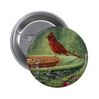 0487 Cardinal Button
