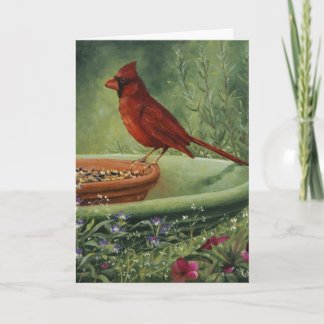 0487 Cardinal Mother's Day Card