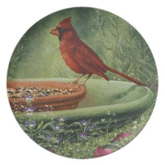 0487 Cardinal Plate