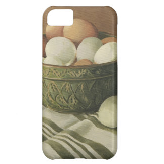 0497 Eggs in Antique Green Bowl iPhone 5C Cover