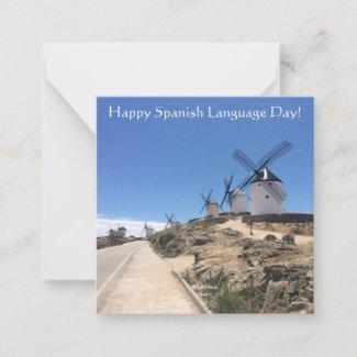 04.23.SpanishLanguageDay Note Card