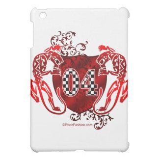 04 auto racing number tigers iPad mini covers