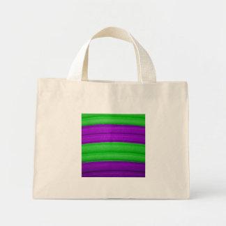 04 bolso verde y púrpura bolsas de mano