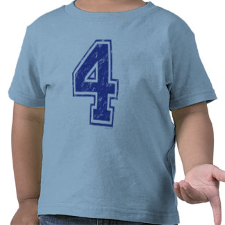 04 Custom Jersey Blue T-shirts