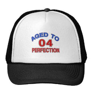 04 envejecido a la perfección gorra