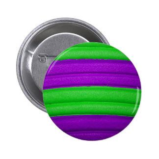 04 Green & Purple Rainbow Button
