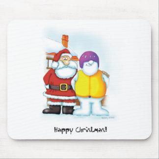 04_snowman2 mouse pad