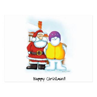 04_snowman2 postcard