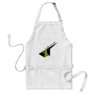 0500 Jamaica To The World Adult Apron