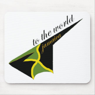 0500 Jamaica To The World Mouse Pad