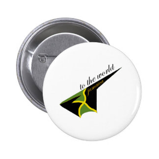 0500 Jamaica To The World Pinback Buttons