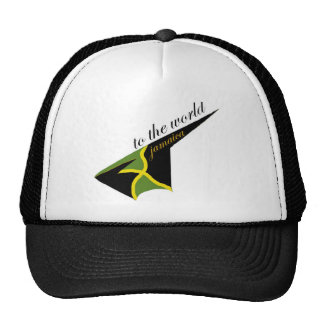 0500 Jamaica To The World Trucker Hat