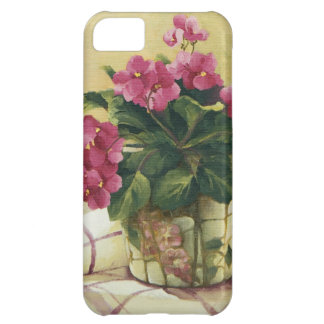 0511 African Violets in Mosaic Planter iPhone 5C Case