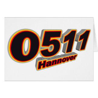 0511 Hannover Card