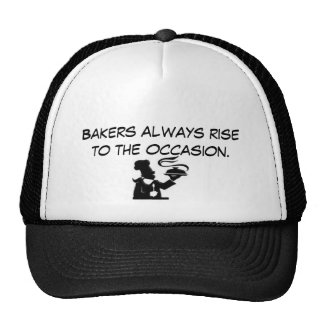 0512-0712-2717-5844, Bakers always rise to the ... Trucker Hat