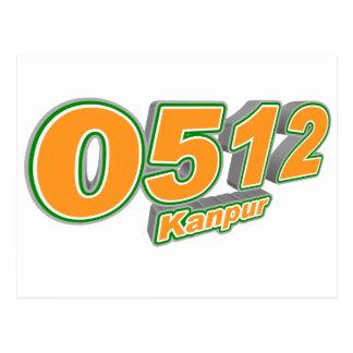 0512 Kanpur Postcard