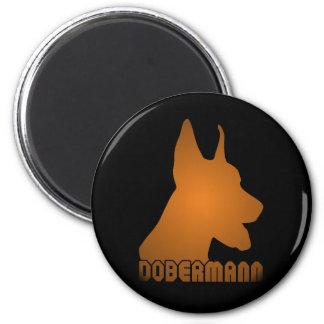 0513032011 Dobermann (Animales) Magnet