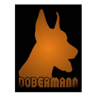 0513032011 Dobermann (Animales) Postcard