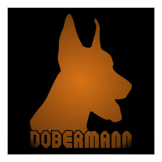 0513032011 Dobermann (Animales) Posters