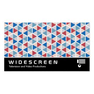 0514 con pantalla grande - Modelo 05 del hexágono Tarjetas De Visita