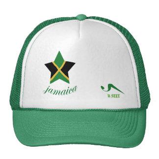 052 U Seet Green Jamaica Golf Hat
