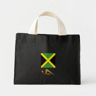 052 U Seet Jamaica Flag Tote Tote Bags