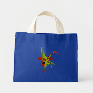 052 U Seet Keri Le' Blue Tote Bag