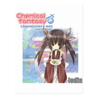 053 Iodin of Chemical fantasy Postcard
