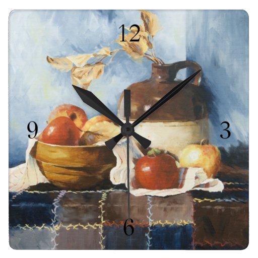 0541 manzanas y todavía de la loza vida en el relo