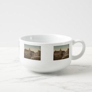 05618 lugar Verte y catedral, Amberes, Bélgica Cuenco Para Sopa