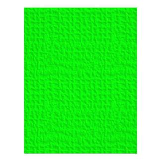 057 NEON GREEN YELLOW FUN WAFFLE TEXTURE TEMPLATE FLYERS