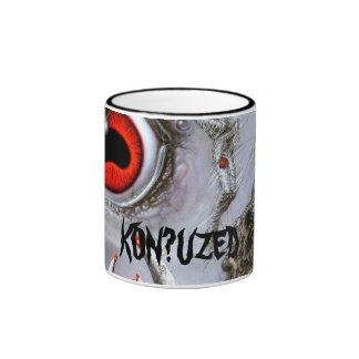 058004kd2ab, KON?UZED Ringer Coffee Mug